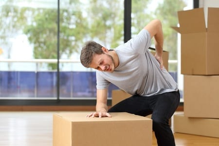 The Four Most Common Moving Injuries