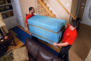 two men offering professional packing services