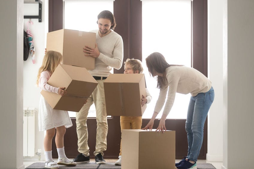 check moving services through your cell