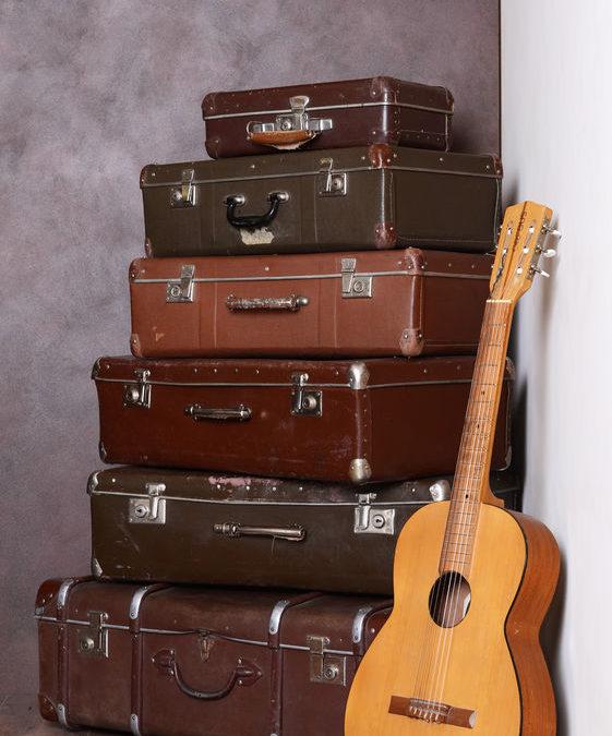 moving luggage