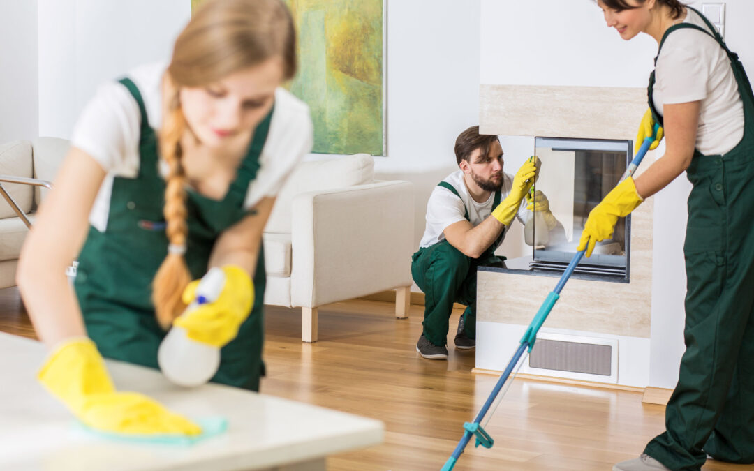 Cleaning Your Home Before a Move